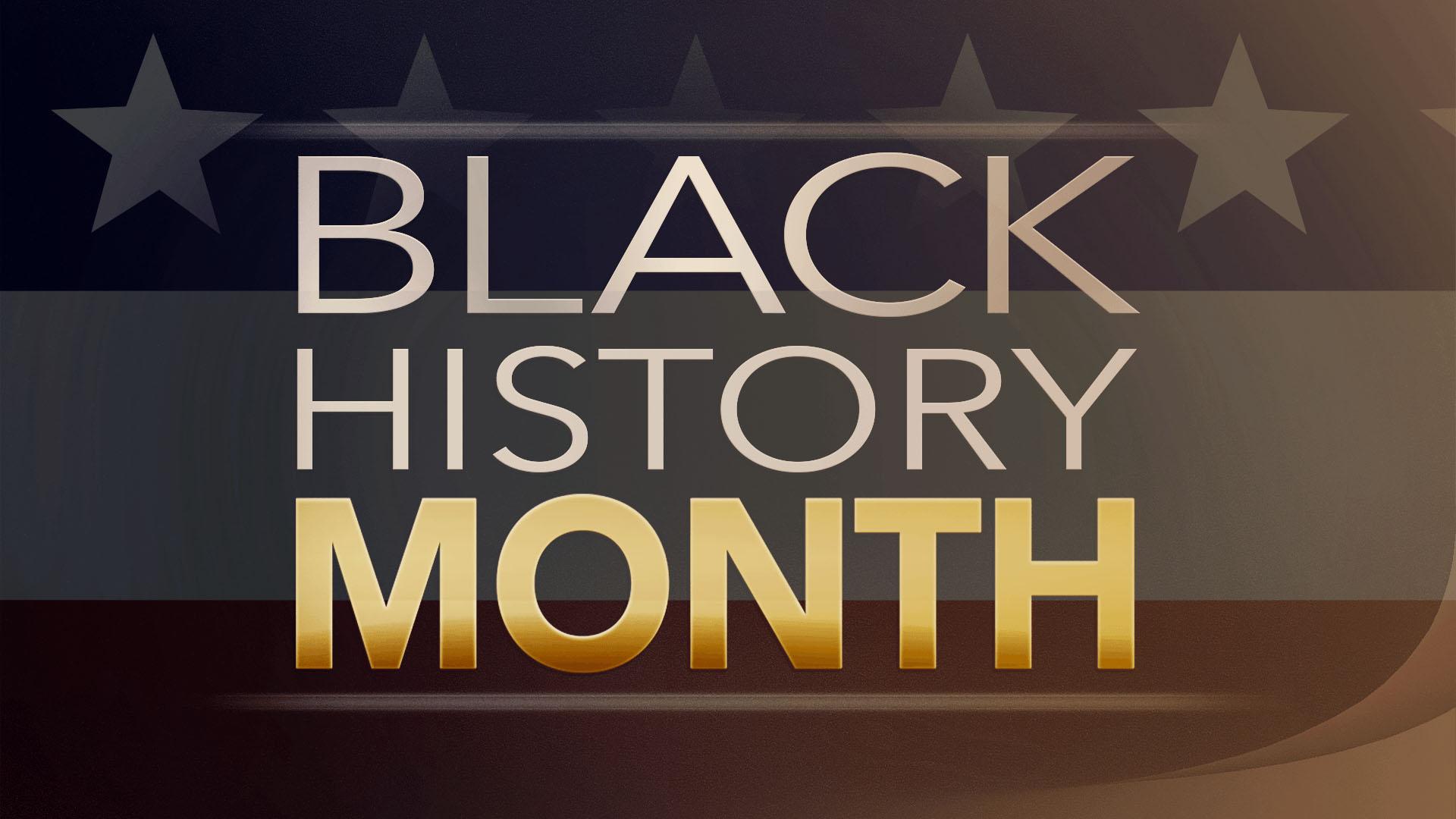 Black History Month February Digital Signage Graphic 2