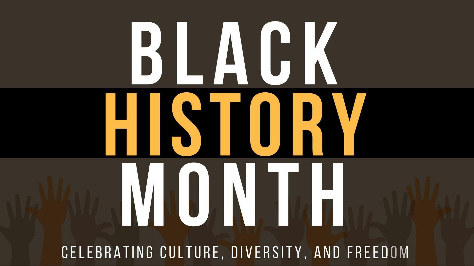 Black History Month February Digital Signage Graphic 3