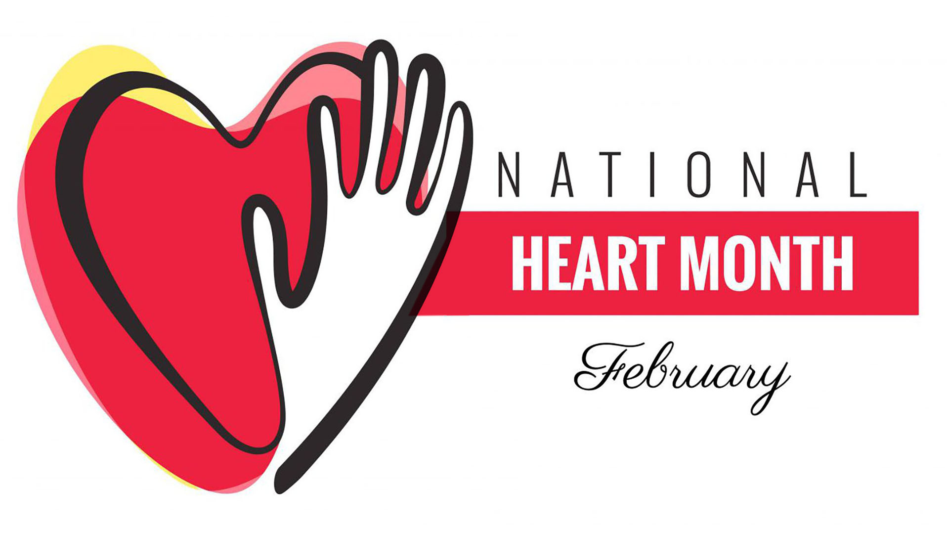 February National Heart Month Digital Signage Graphic 1