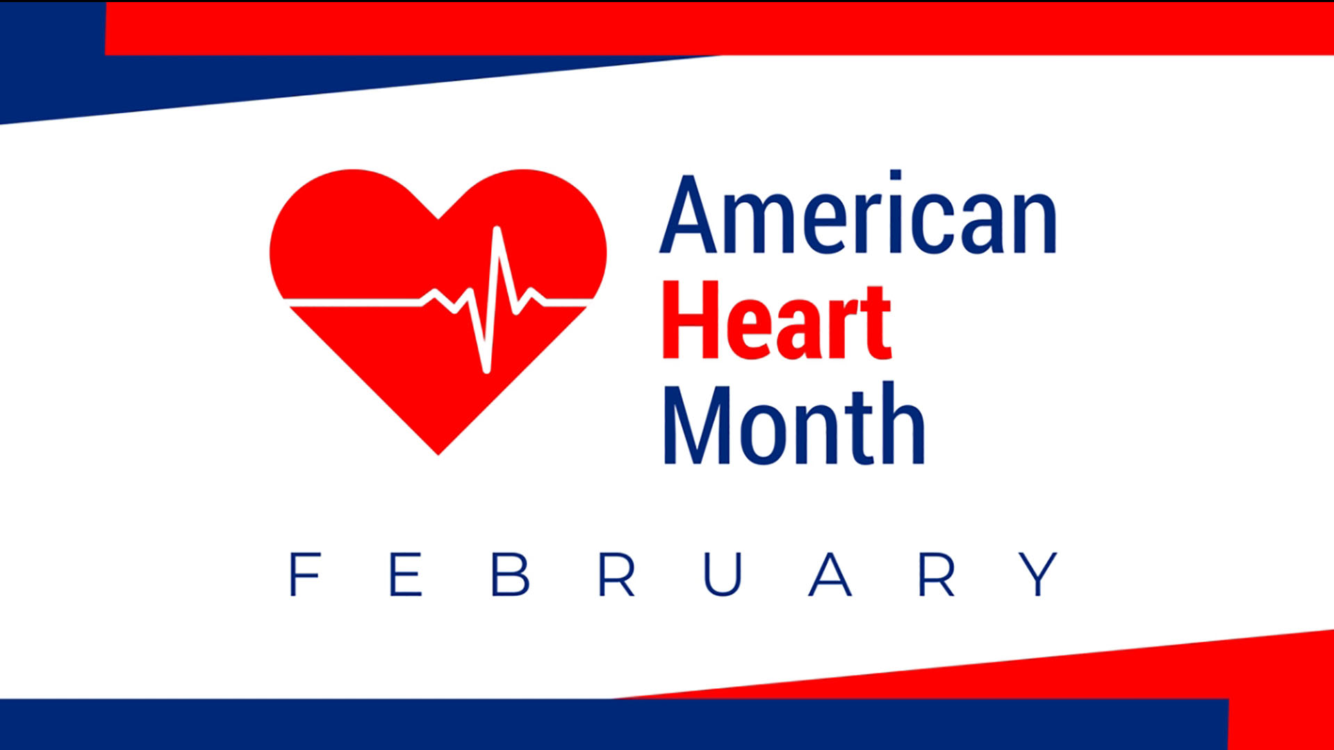 February National Heart Month Digital Signage Graphic 3