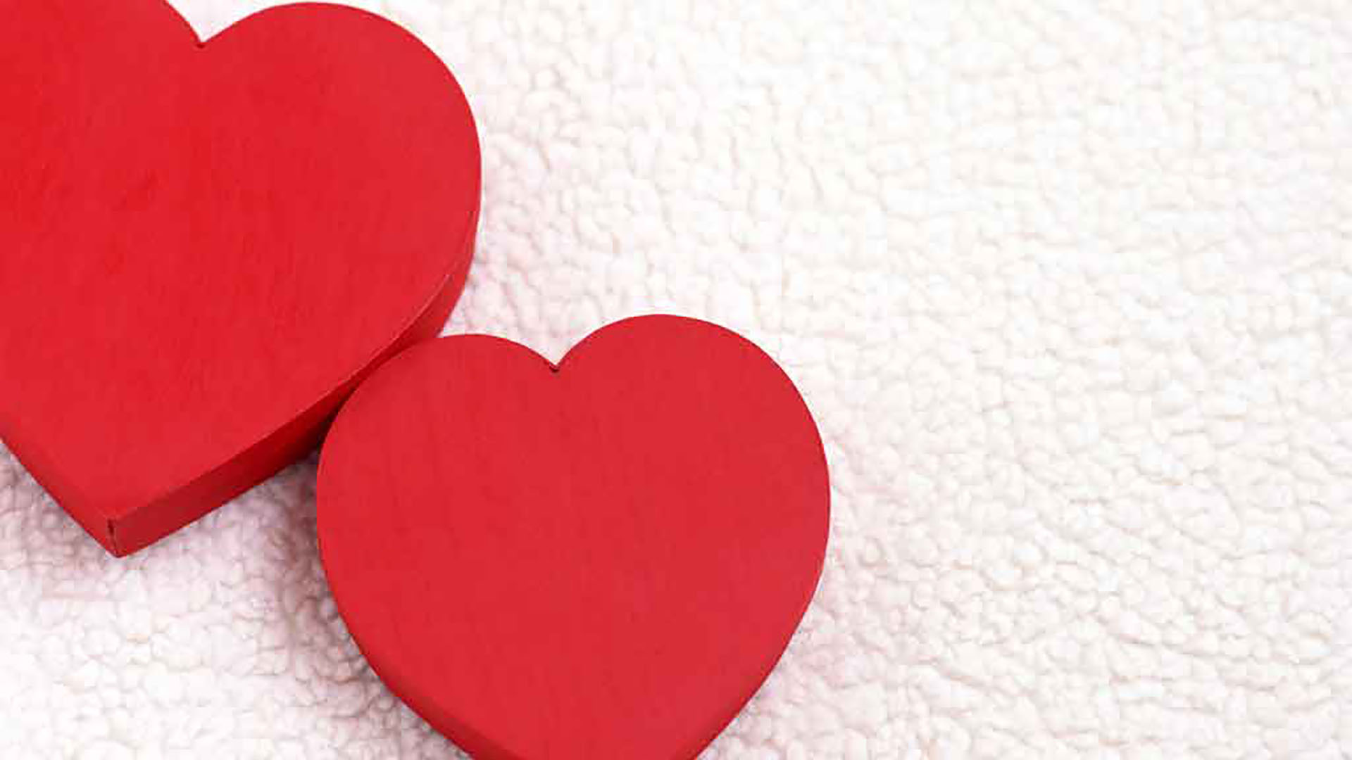 February 14 Valentine's Day Digital Signage Graphic