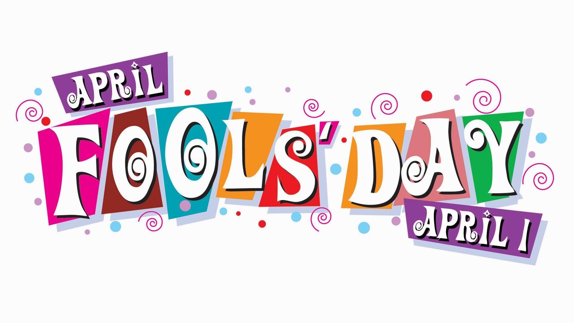 April 1 April Fools Day Digital Signage Graphic