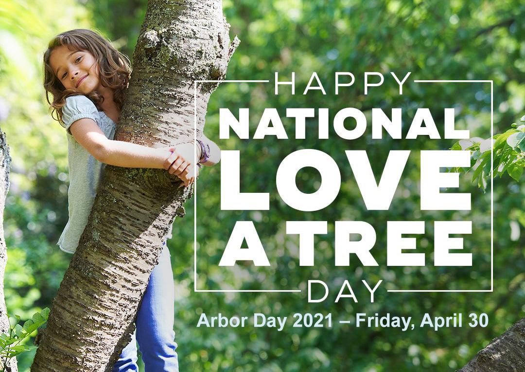 April 30 Arbor Day Digital Signage Graphic