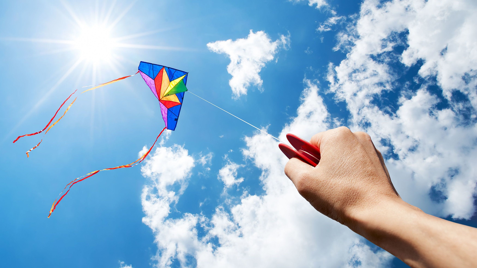 April 21 Go fly A kite Day Digital Signage Graphic
