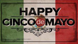 May 5 Cinco De Mayo Digital Signage Graphic