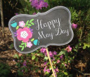 May 1 May Day Digital Signage Graphic