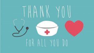 May 6 - 12 Nurses Week Digital Signage Graphics