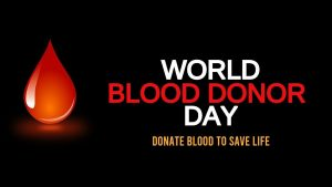 June 14 Blood Donor Day Digital Signage Graphic