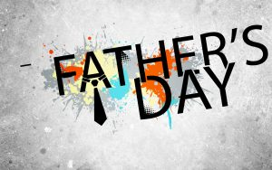 June 21 Happy Fathers Day Digital Signage Graphic