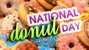 June 4 National Donut Day Digital Signage Graphic