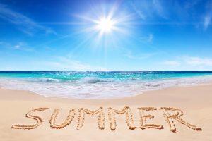 June 20 Summer Solstice Digital Signage Graphic