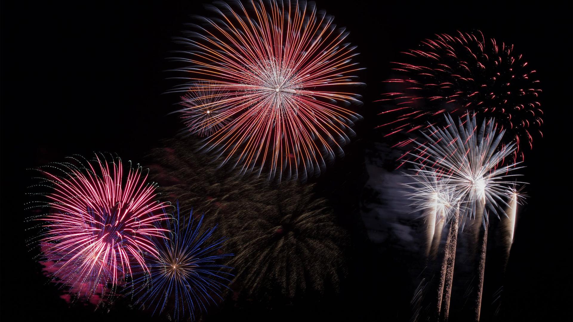 Fireworks Digital Signage Graphic