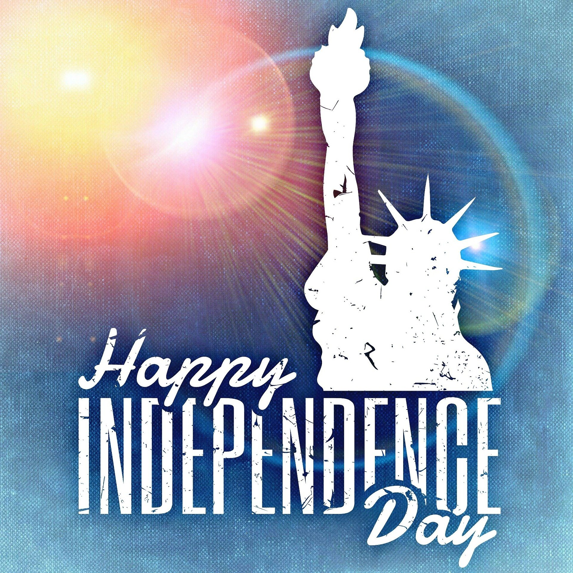 Fourth of July Digital Signage Graphic