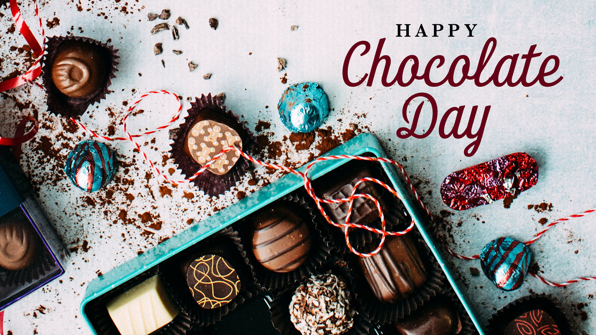 Nation Chocolate Day July 7 Digital Signage Graphic