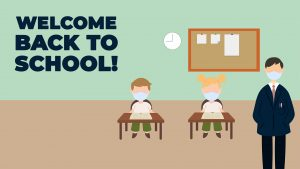 Welcome Back To School Digital Signage Graphic