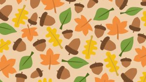 First Day Of Fall Background September 22 Digital Signage Graphic