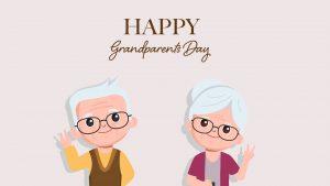 Happy Grandparents Day September 12 Digital Signage Graphic