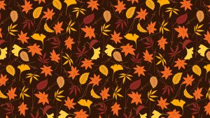 Fall Background Digital Signage Graphic