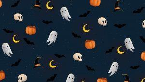 Halloween October 31 Digital Signage Graphic
