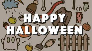 Happy Halloween October 31 Digital Signage Graphic